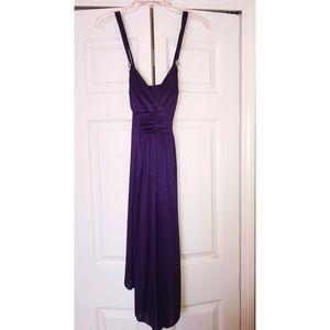 Beautiful Royal purple dress